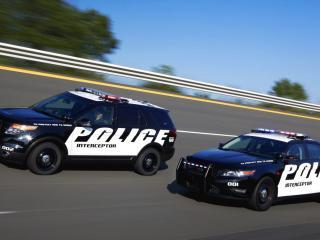обои Форд-Полицейский перехватчик фото