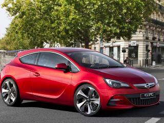 обои Концепт кар Opel GTC фото