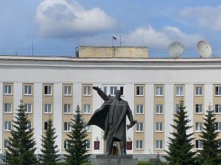 обои Краснотурьинск - памятник Ленину фото