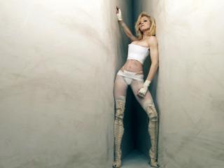 обои Певица Мадонна в белом фото