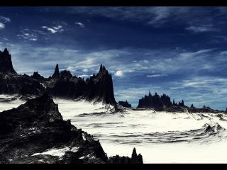 обои Горы зимой фото