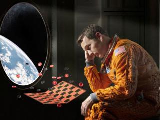 обои Грусть астронавта фото
