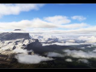 обои Летим над облаками фото