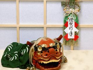обои Макет грозного дракона в Японии фото