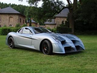 обои 2010 Panoz Abruzzi Spirit of Le Mans у дома фото