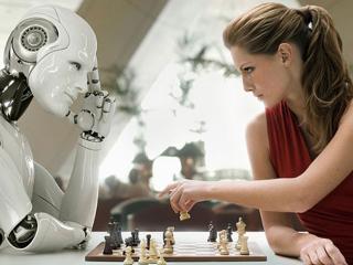 обои Матч - человек против робота фото