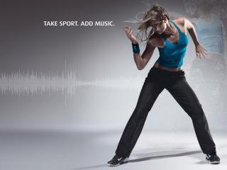 обои Для спортсменов и танцоров фото