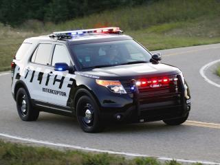 обои Форд Интерцептор полицейский фото