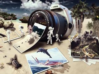 обои Мир фотографии с Canon фото