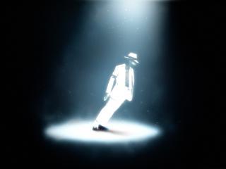 обои Майкл Джексон во всем белом фото