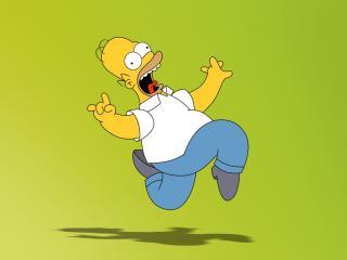 обои Кричащий Гомер Симпсон фото
