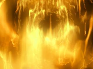 обои Огненный шторм фото