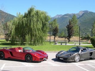 обои Автомобили  Simbol Design Lavazza GTX-R фото