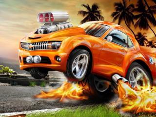 обои Автомобиль с огоньком фото