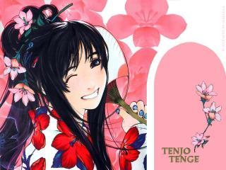 обои Красивая улыбка Тенжой фото