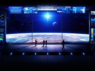 обои Космическая обсерватория фото