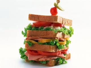 обои Гиганский бутерброд фото