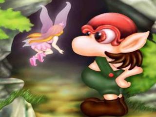 обои Гномик в лесу фото