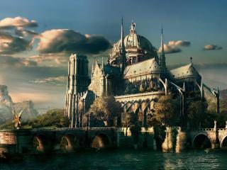 обои Мистический замок фото