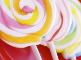 обои Разноцветное мороженное фото