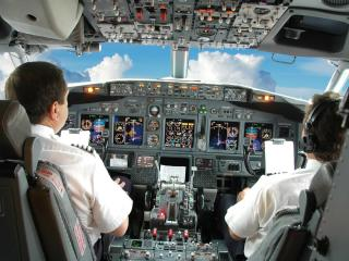 обои Кабина пилота фото