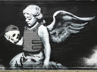 обои Граффити на тему войны фото