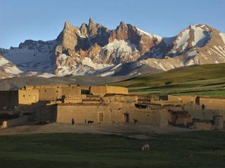 обои Деревни провинции Хазарият в Афганистане фото