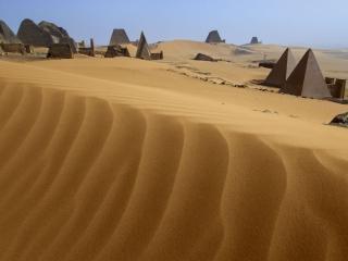 обои Пирамиды Мерое фото