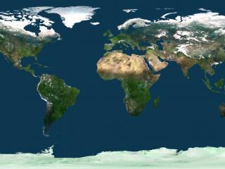 обои Развернутая планета фото
