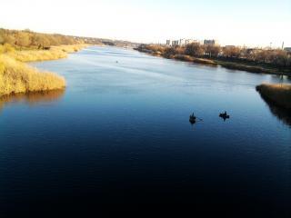 обои Г.Первомайск  речка Синюха впадает в р.Южный буг фото