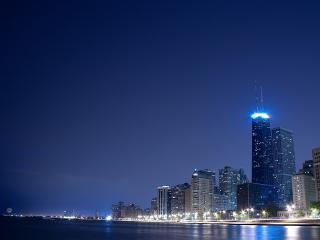 обои Город в ночи фото