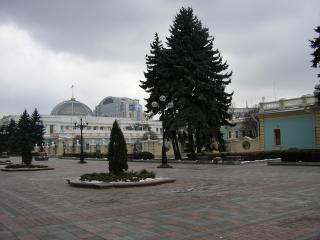 обои ВРУ Киев площадь фото