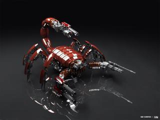 обои Скорпион убийца фото