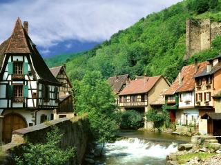 обои Деревня в Чехии фото
