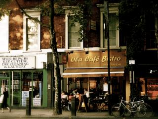обои Кафе в Италии фото