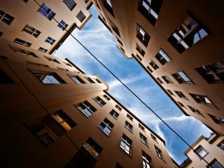 обои Кусочек голубого неба фото