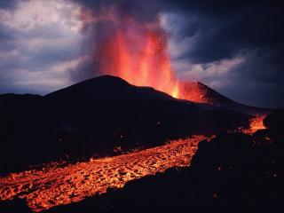 обои Вулкан в Конго фото