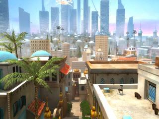обои Касабланка город будущего фото