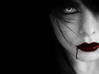 обои Последний поцелуй вампира фото