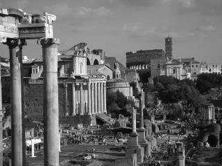 обои Старый снимок древнего города фото