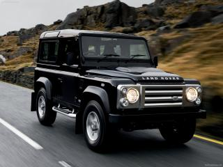 обои Land Rover Defender SVX фото