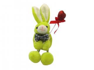 обои Зеленый заяц с сердцем фото