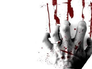 обои Кровавый отпечаток фото