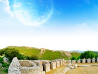 обои Развалины древней крепости фото
