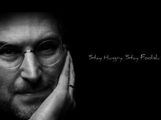 обои для рабочего стола: Стив Джобс - Steve Jobs (Apple)