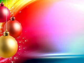 обои Яркий сочный Новый год фото
