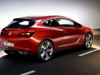 обои Vauxhall GTC Paris Concept зад фото