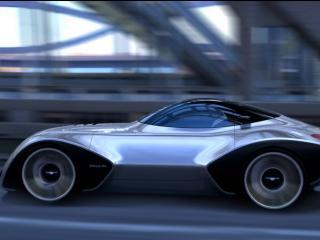 обои 2007 Paulin VR Concept дорога фото