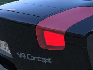обои 2007 Paulin VR Concept фара сзади фото