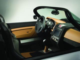 обои 2006 Yes Roadster 3.2 Turbo сиденья сбоку фото